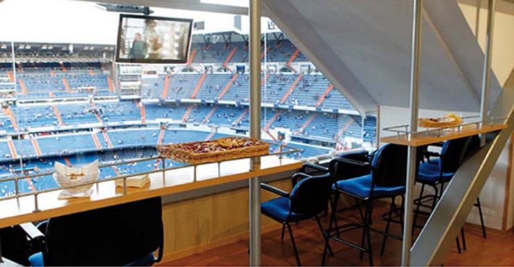 Билеты на VIP ложи Santiago Bernabéu на матчи Real Madrid